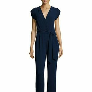 """DvF """"Purdy jumpsuit"""" in Navy"""